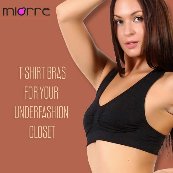 5 Dresses With Which You Can Wear Comfortable T-shirt Bras