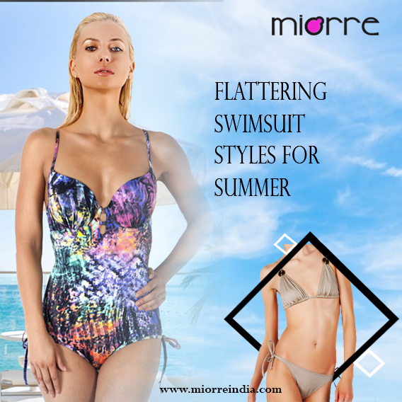 Flaunt Your Colourful Swimwear Style This Summer