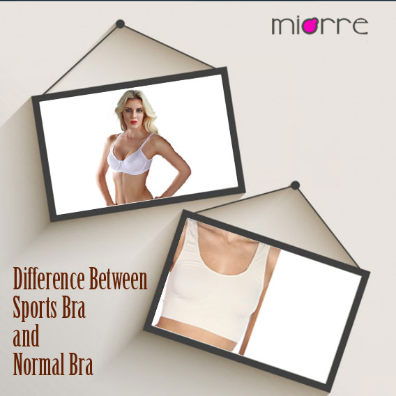 The Difference Between Sports Bra and Normal Bra