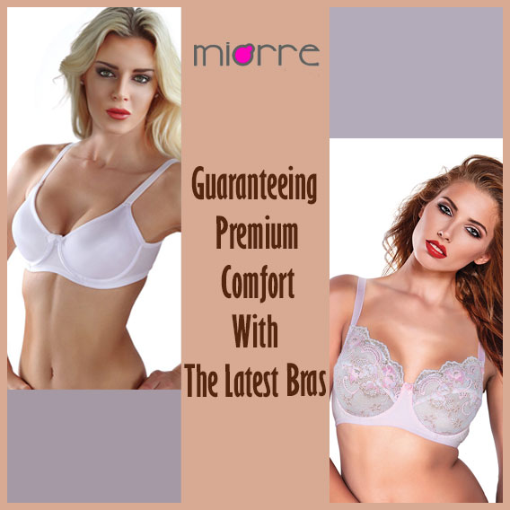 Choose Best Fit Comfortable Bras to Sail through Your Home Working Schedule